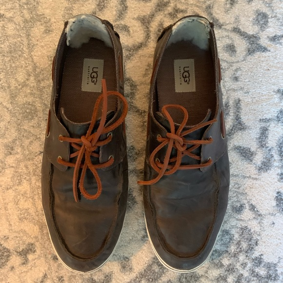 Mens Ugg Uggs Boat Sperry Shoes Leather